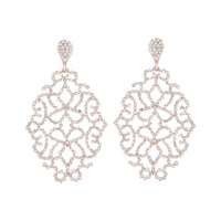 Rose Gold Diamante Intricate Stone Earring | Earrings | Lovisa Jewellery Australia | Gift Idea Girl