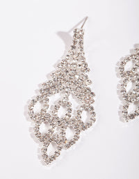 Sliver Chandelier Cupchain Earring - link has visual effect only