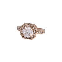 Gold Cubic Zirconia Square Surround Ring | Rings | Lovisa Jewellery Australia | Gift Idea Girl