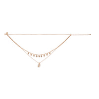Gold Triple Layer Shell Choker Necklace - link has visual effect only