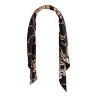 Black Gold Square Gold Chain Scarf - link has visual effect only