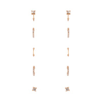 Gold Diamante Cuff Ear Pack - link has visual effect only