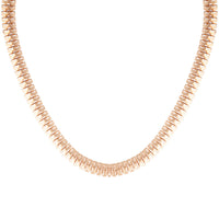Gold Box Chain Necklace - link has visual effect only