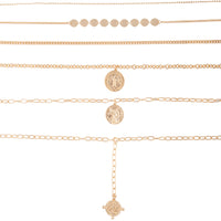 Gold Coin Chunky Choker Pack | Necklaces | Lovisa Jewellery Australia | Gift Idea Girl