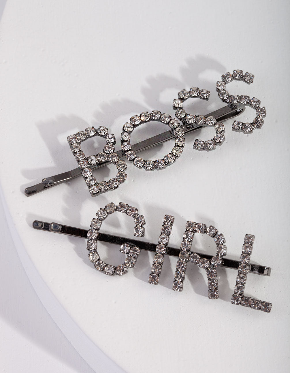 Gunmetal Boss Girl Clip Pack