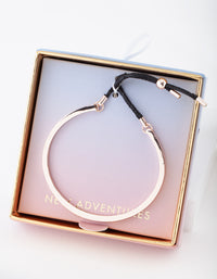 Rose Gold New Adventures Bangle Gift Box