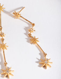 Constellation Star Drop Earring - link has visual effect only