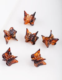 Tortoiseshell Butterfly Mini Clip Pack - link has visual effect only