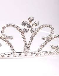 Kids Silver Pretty Tiara Headband - link has visual effect only