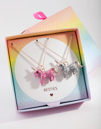 Kids BFF Unicorn Necklace Set - link has visual effect only