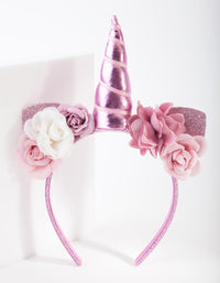 Kids Fabric Unicorn Headband - link has visual effect only
