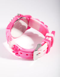 Kids Pink Unicorn Linked Watch - link has visual effect only