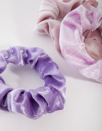 Kids Fabric Velvet Scrunchie 3 Pack - link has visual effect only