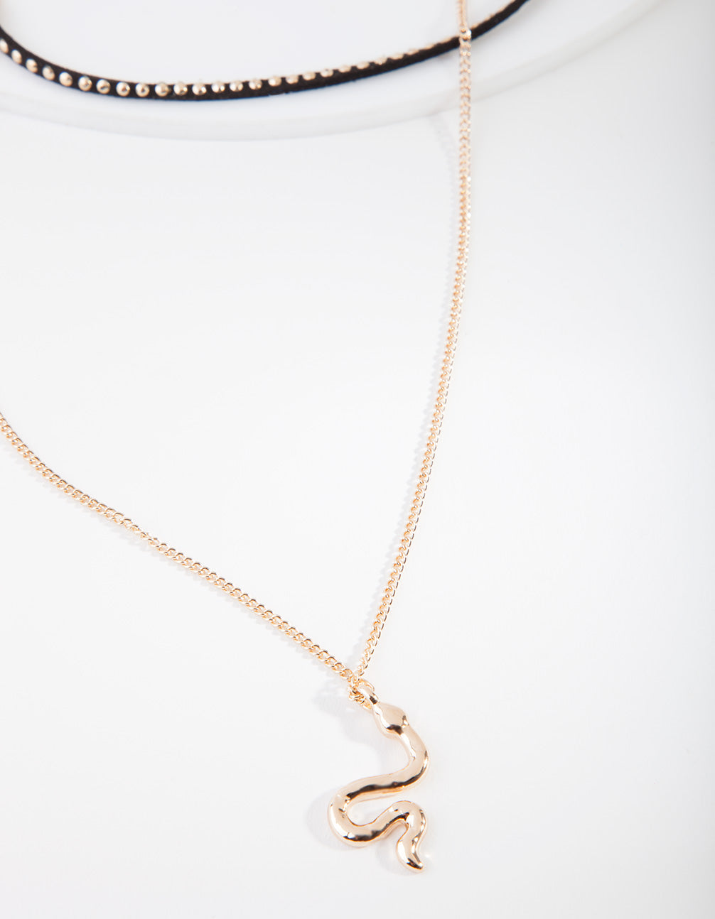 Gold Layered Snake Choker