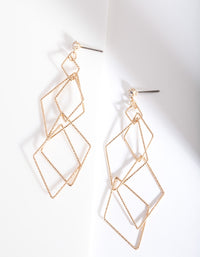 Gold Fine Layered Earring