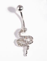 Diamante Snake Belly Bar - link has visual effect only