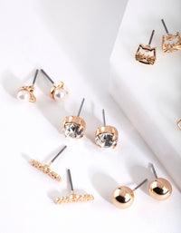 Cat Lover Stud Earring Pack - link has visual effect only