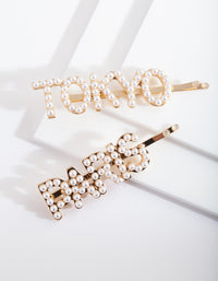 Pearl Paris Tokyo Hair Clip Pack - link has visual effect only