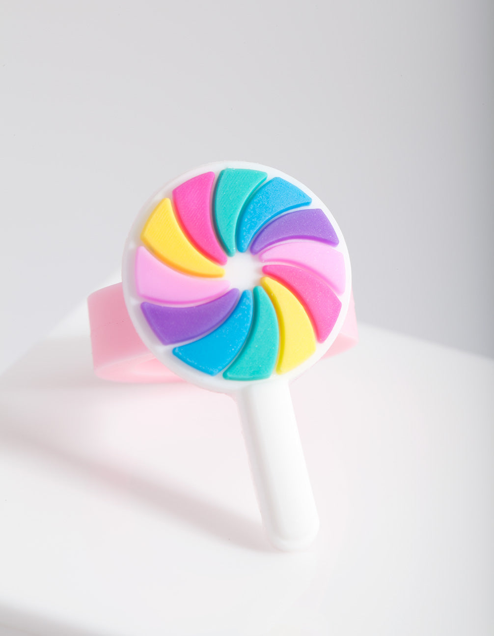 Kids Multicoloured Lollipop Rubber Ring