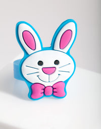 Kids Rubber Bunny Ring - link has visual effect only