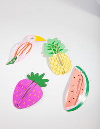Multi-Colour Fruit Clip 4 Pack - link has visual effect only