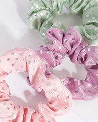 Kids Polka Dot Scrunchie 3 Pack - link has visual effect only