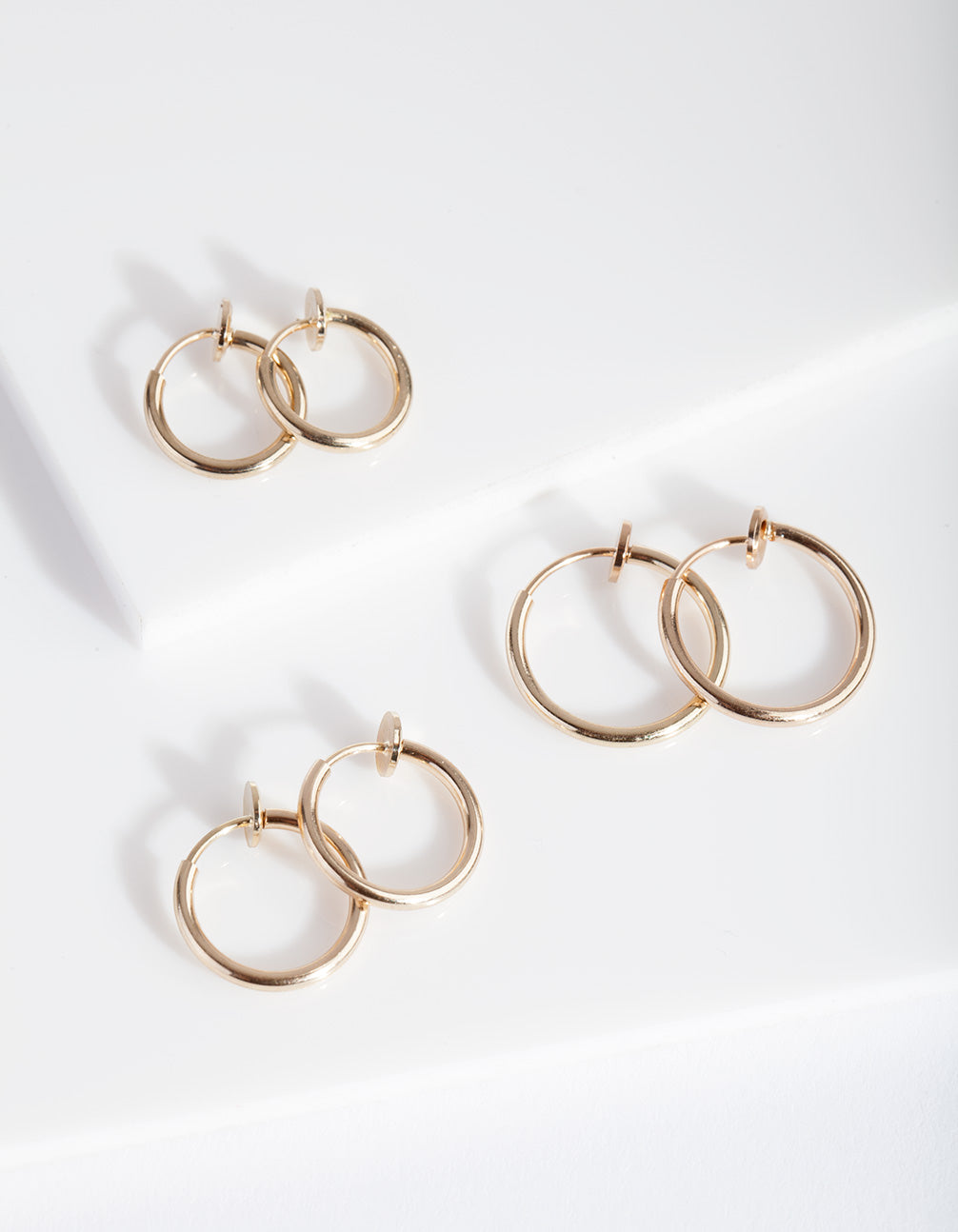 Gold Faux Body Rings 7 Pack
