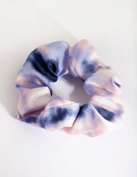 Soft Blue Tie Dye Scrunchie - link has visual effect only