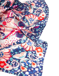 Blue Blush Paisley Fabric Scarf - link has visual effect only