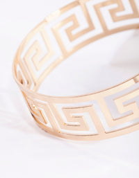 Gold Maze Cutout Bangle - link has visual effect only