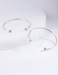 Lovisa Rose Gold Bangle - link has visual effect only