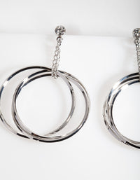 Lovisa Silver Drop Earrings - link has visual effect only