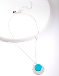 Turquoise Necklace - link has visual effect only