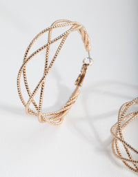 Lovisa Gold Hoop Earrings - link has visual effect only