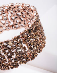 Gold Embellished Stretch Bracelet - link has visual effect only