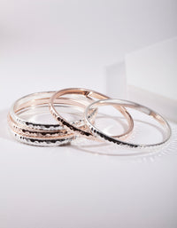 Mixed Metal Bracelet 5 Pack - link has visual effect only