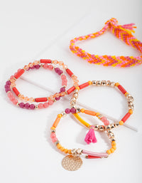 Multi Stretch Mixed Bangle Pack - link has visual effect only