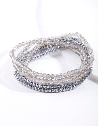 Faceted Bead Multi Bracelet Pack - link has visual effect only