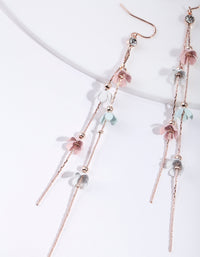 Mixed Pastel Flower Earrings - link has visual effect only