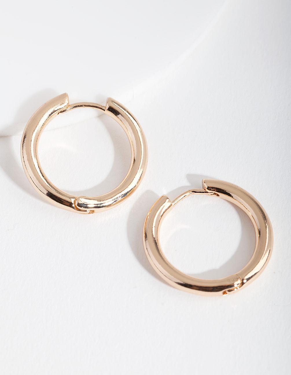Gold Polished Hoop Earring