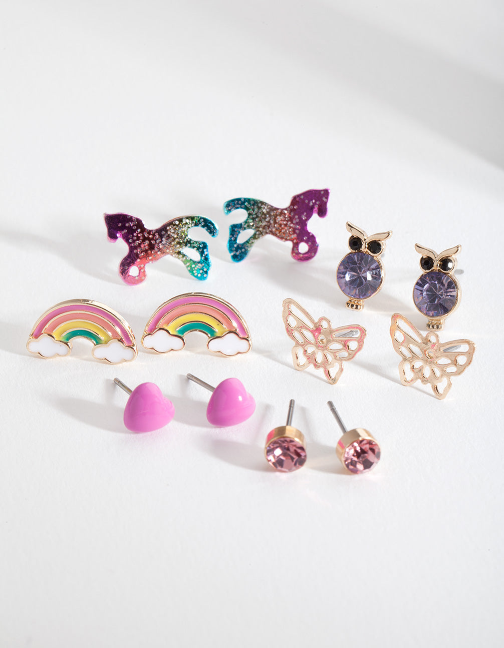 Kids Fairytale Stud Earring 6 Pack
