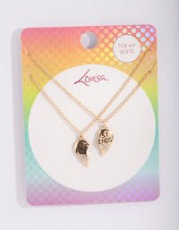 Kids Gold BFF Necklace - link has visual effect only