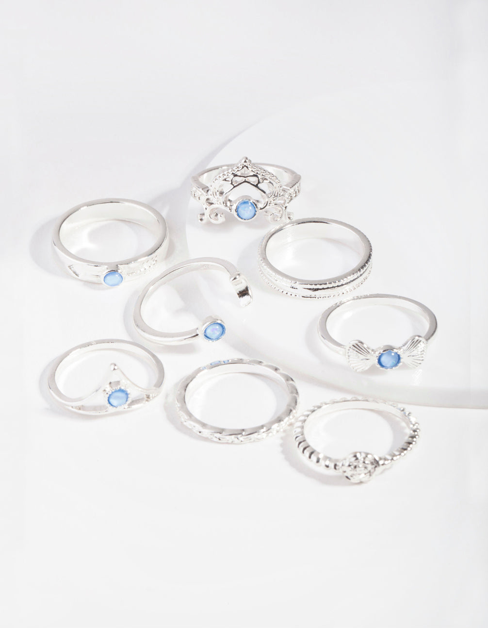 Silver Opal Gem Ring Pack