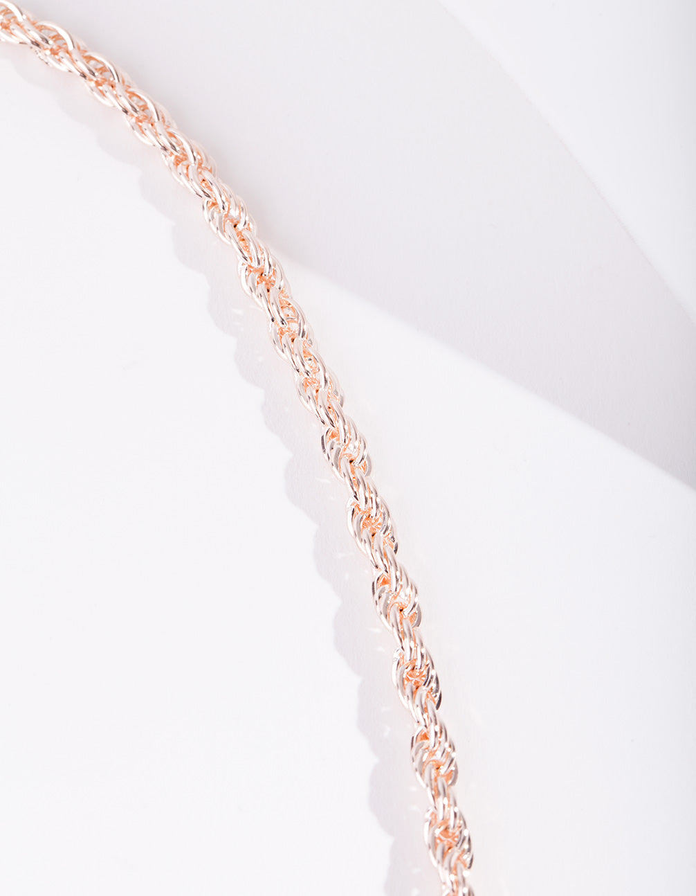 Real Rose Gold Plated 40cm Necklace