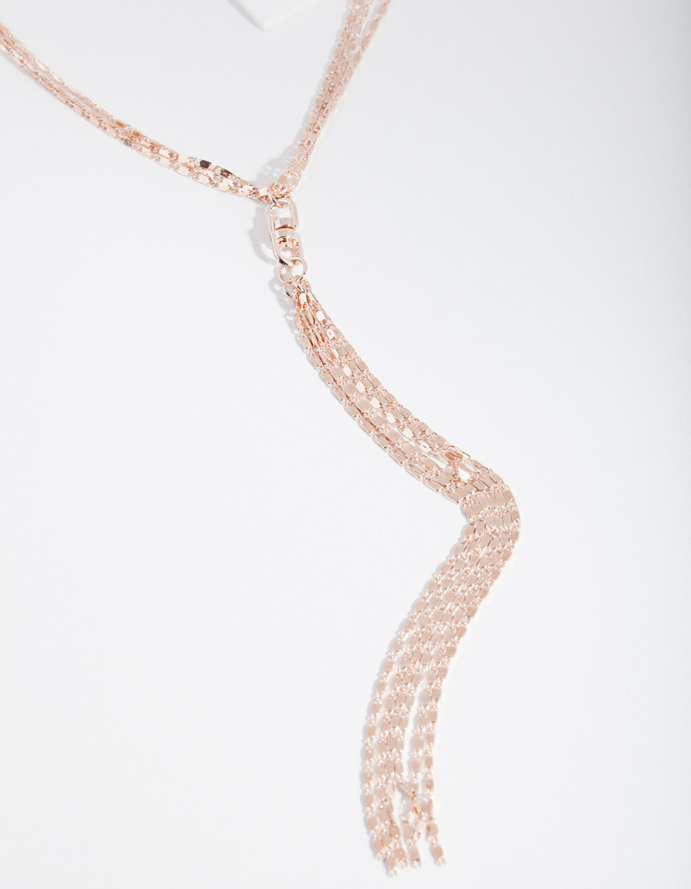 Rose Gold Rope Chain Necklace