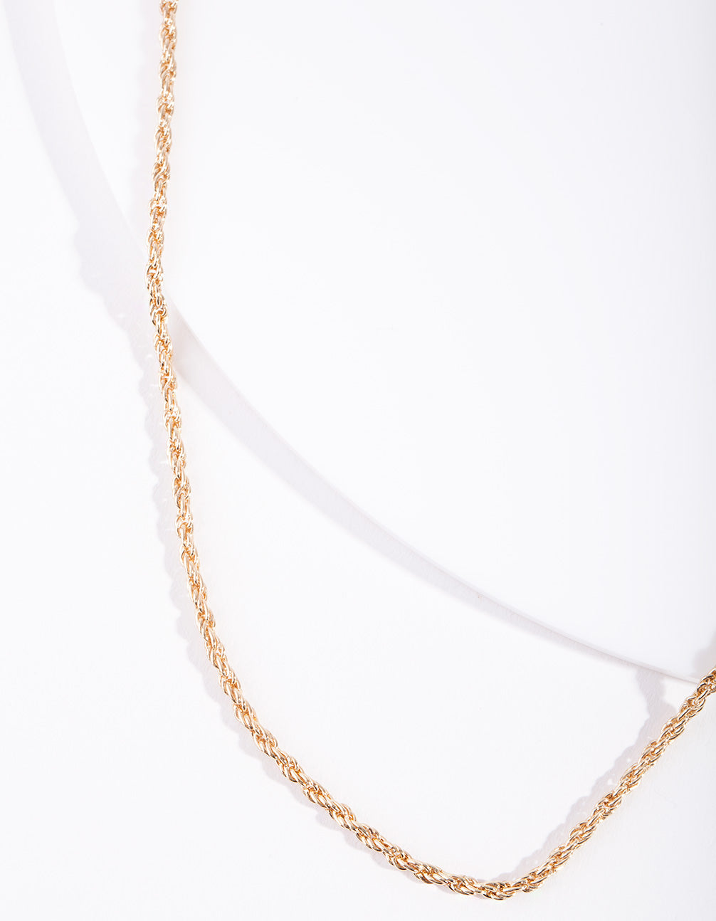 Real Gold Plated Thin Necklace