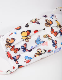 Kids Butterfly Print Face Mask - link has visual effect only