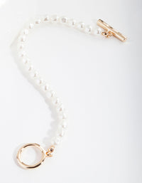 Gold Pearl Essential Bracelet - link has visual effect only