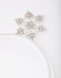 Silver Snowflake Headband - link has visual effect only