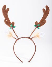 Reindeer Antler Headband - link has visual effect only